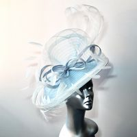 16919 Jeans Blue & Ivory Wedding Hatinator SD702